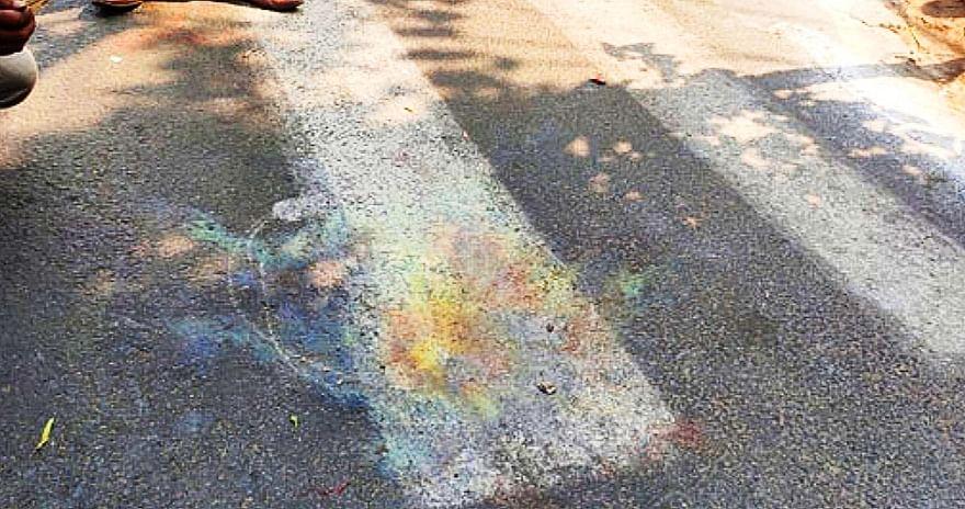 महाजाति सदन के पास बम विस्फोट