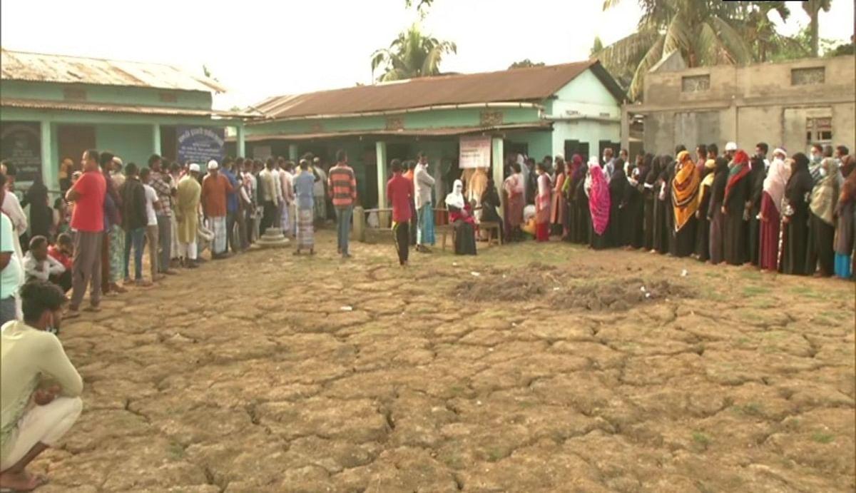 असम में 39 सीटों पर दूसरे चरण का मतदान जारी, सुबह 9 बजे तक 10.51 फीसदी वोटिंग