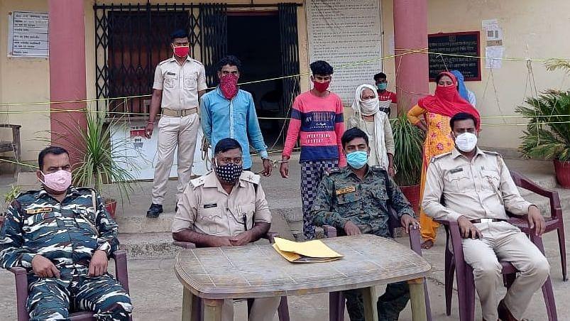 लोहरदगा में दोहरे हत्याकांड के आरोपी गिरफ्तार, आरोपियों में दो महिलाएं भी