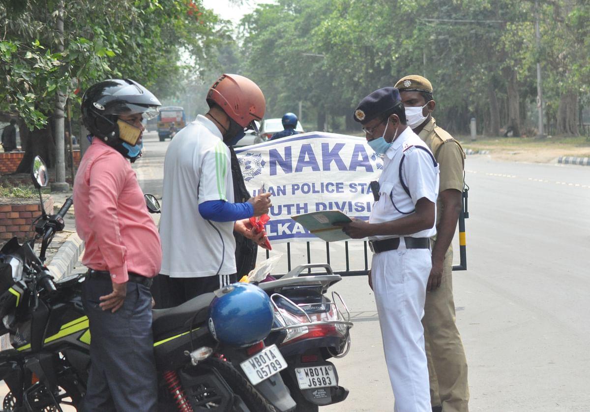 चुनाव के मद्देनजर जगह-जगह नाका चेकिंग कर रही है पुलिस