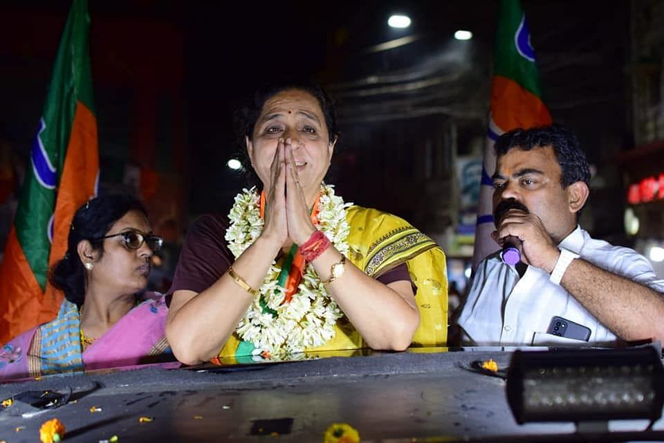 राज्यसभा के सांसद रहे विवेक गुप्ता को चुनौती दे रहीं पूर्व डिप्टी मेयर मीना देवी पुरोहित