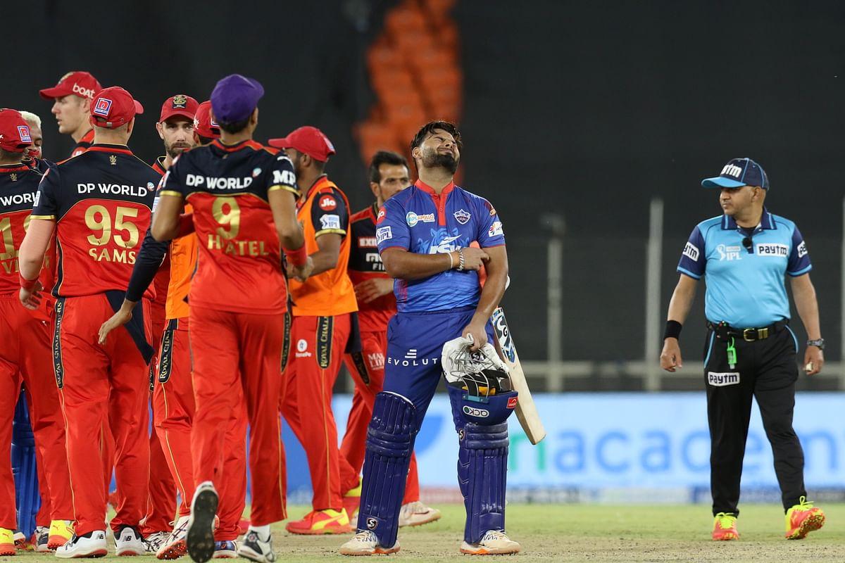 VIVO IPL 2021 DC vs RCB : रोमांचक मुकाबले में आरसीबी ने दिल्ली को 1 रन से हराया, पंत और हेटमायर का अर्धशतक बेकार