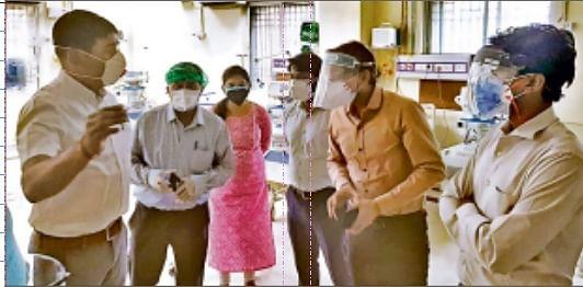 बिहार के इस अस्पताल में उद्घाटन के कुछ घंटों के बाद ही आइसीयू की पाइपलाइन में आयी गड़बड़ी, पुराने आइसीयू में भेजा गया मरीज