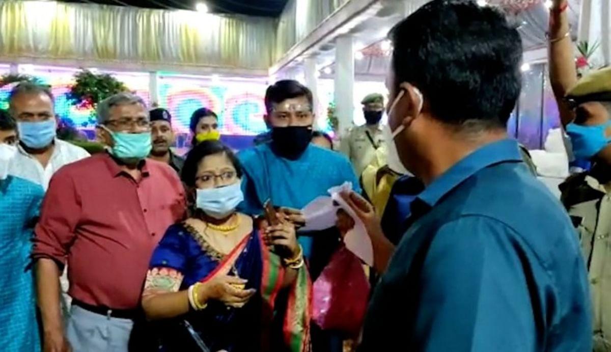 पश्चिमी त्रिपुरा के डीएम ने पहले शादी समारोह को रोका, सोशल मीडिया पर वीडियो वायरल होने पर मांगी माफी, सूबे में राजनीति तेज
