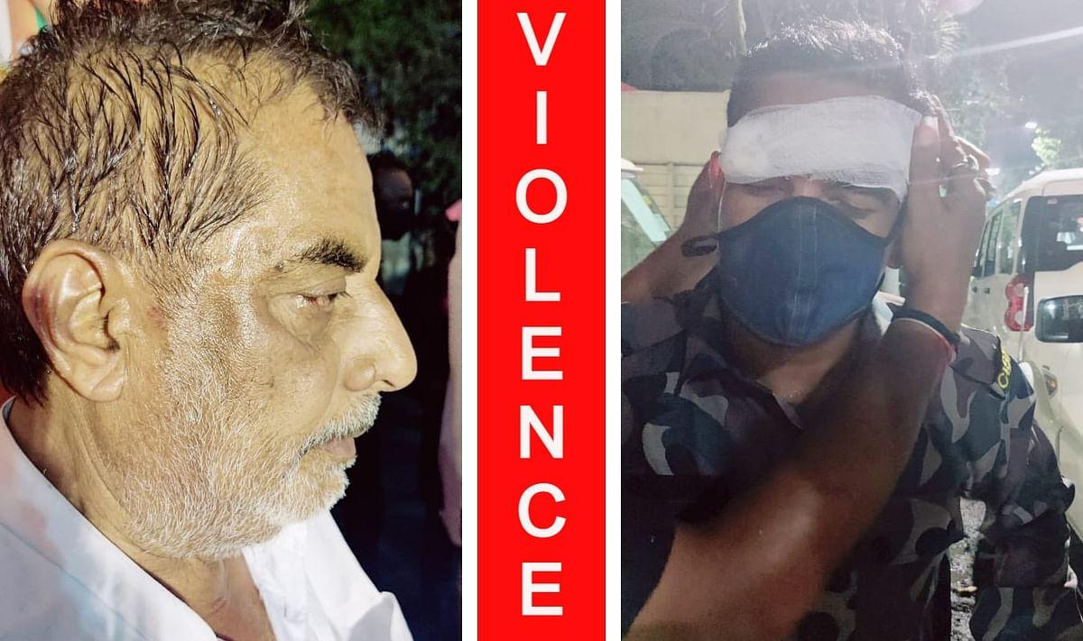 कोलकाता में BJP के प्रचार अभियान में चली गोली, हंगामा, उम्मीदवार शिवाजी सिंह राय और CISF का जवान घायल