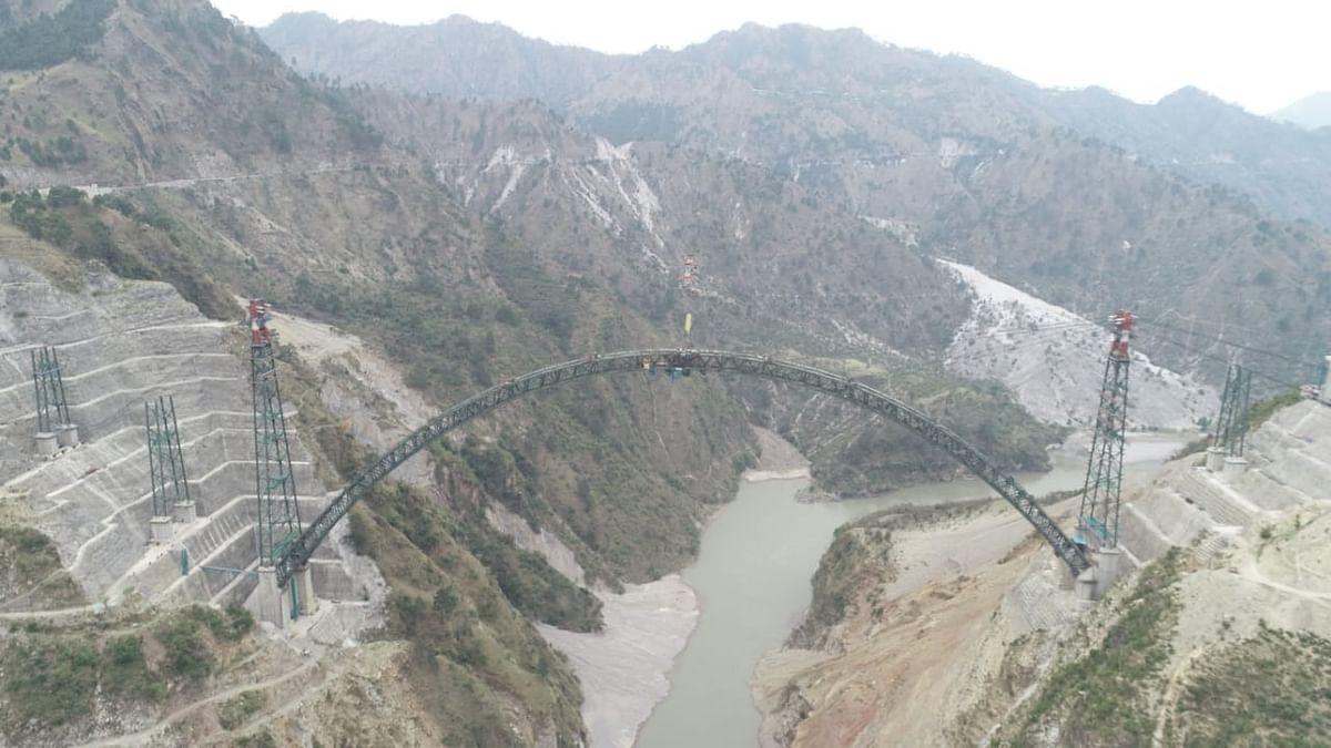 Chenab arch bridge :  एफिल टावर से 35 मीटर ऊंचा है यह पुल, जानें क्या है खासियत...