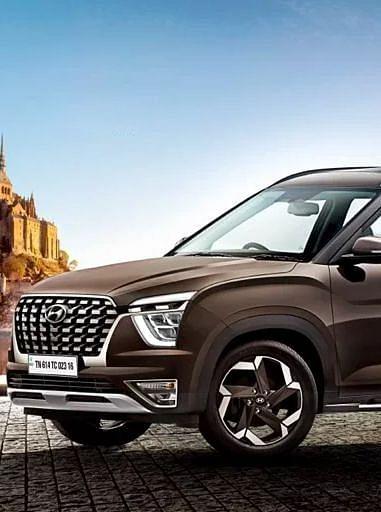 New SUV: खत्म हुआ इंतजार, आ गयी Hyundai Alcazar, तस्वीरों में देखें कैसा है Creta का 7-सीटर अवतार