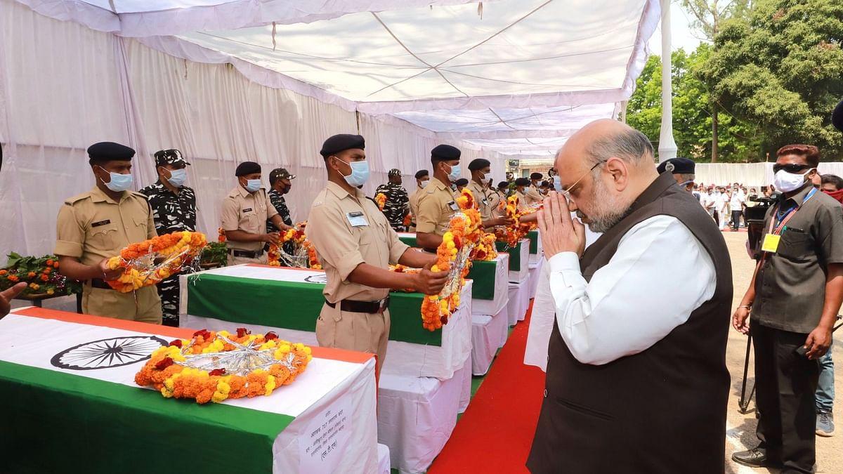 Chhattisgarh Naxal Attack: गृह मंत्री अमित शाह ने दी शहीदों को श्रद्धांजलि, घायल जवानों से मिले