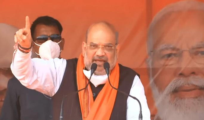 Bengal Chunav 2021: लाशों पर राजनीति करना शर्म की बात, सीएम ममता के कथित वायरल टेप पर अमित शाह का हमला