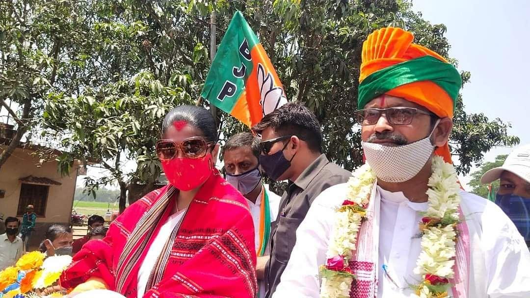 चुनावी सभा से भारती घोष का दावा, 2 मई को बंगाल की जनता देखेगी परिवर्तन की सरकार