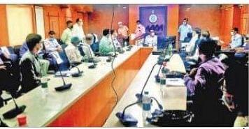 कोरोना की रोकथाम को लेकर दुर्गापुर में  हाई लेवल मीटिंग, 500 कोविड बेड बढ़ाने का प्रस्ताव