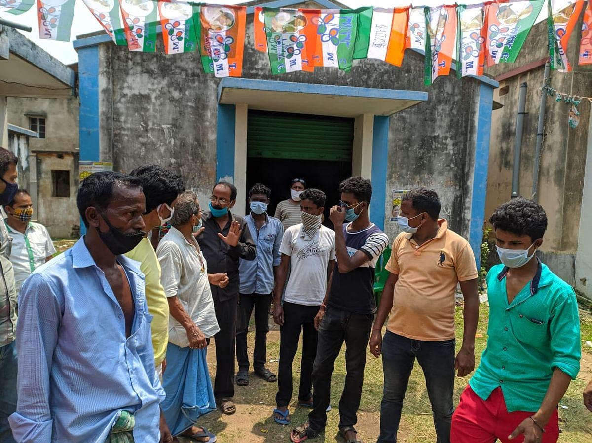 मतदान के बीच दुर्गापुर में टीएमसी कार्यालय पर हमला, सेंट्रल फोर्स के जवानों पर आरोप