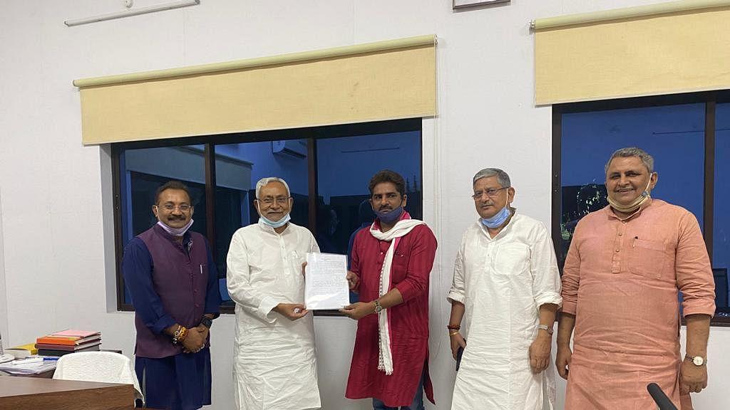 बिहार में LJP के इकलौते विधायक भी जदयू में शामिल, CM नीतीश की शरण में MLA राजकुमार सिंह