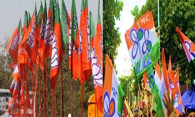 रासबिहारी में BJP के प्रचार रथ में तोड़फोड़ से इलाके में तनाव, TMC पर लगा आरोप
