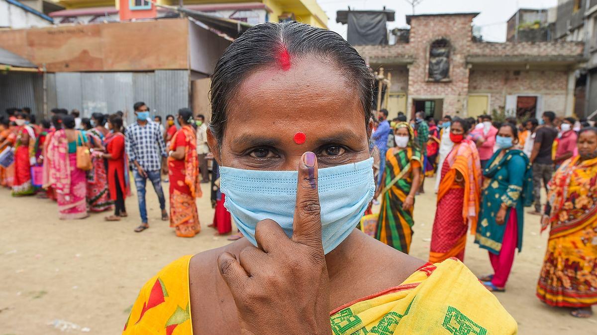 उत्तर 24 परगना और पूर्वी बर्दवान में छिटपुट हिंसा के बीच बंगाल के 4 जिलों की 43 विधानसभा सीटों पर 79.09 फीसदी मतदान