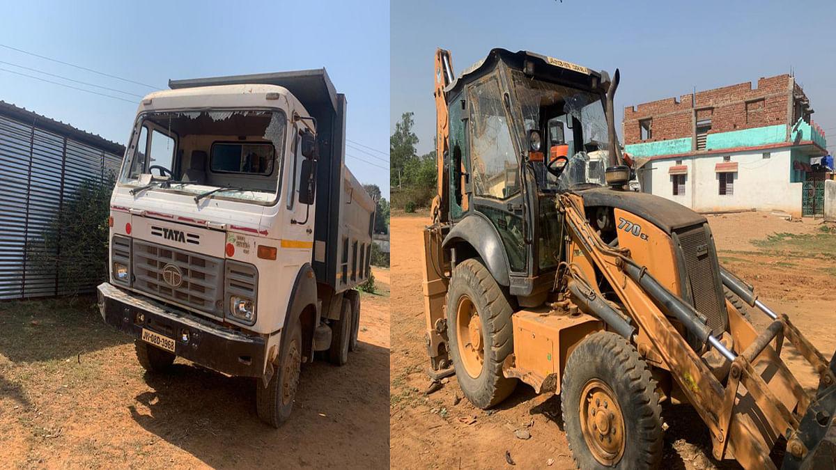गुमला में ठेकेदार के अस्थायी कैंप पर नक्सलियों का हमला, आधा दर्जन कर्मचारियों के साथ मारपीट