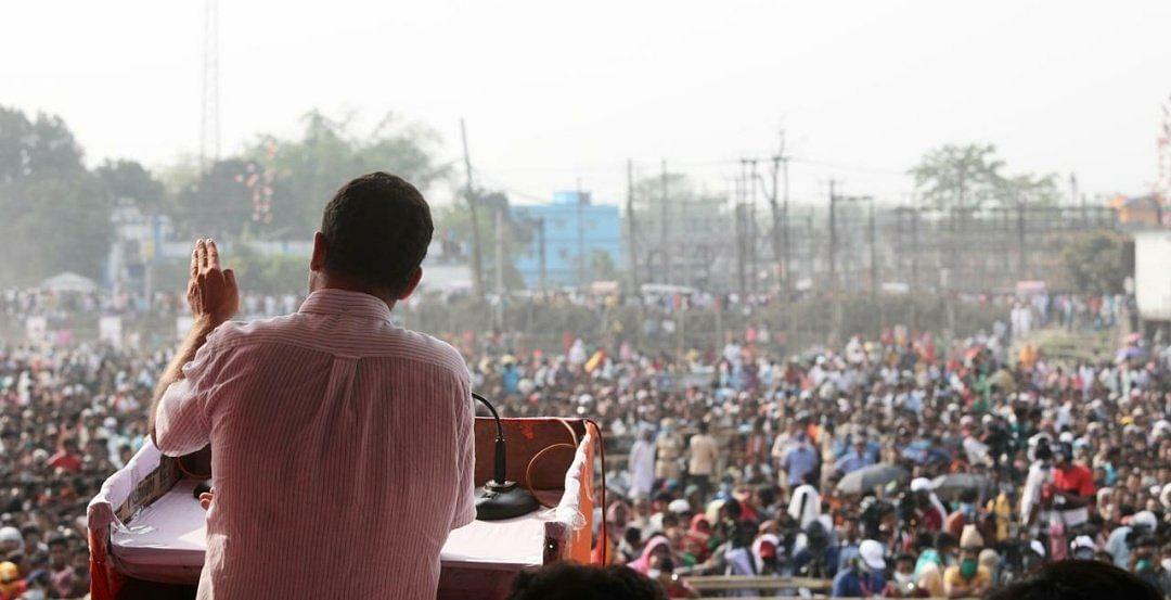 नक्सलबाड़ी से भाजपा पर राहुल गांधी का हमला, कहा- लोगों को लड़ाना पार्टी के डीएनए में है, बंगाल में भी यही होगा