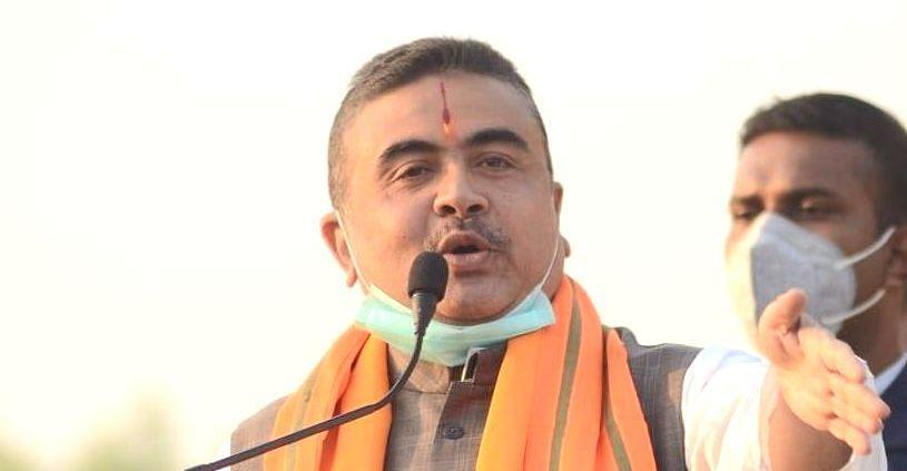 नंदीग्राम में शुभेंदु अधिकारी के काफिले पर हमला, भाजपा नेता बोले, बंगाल में जंगलराज