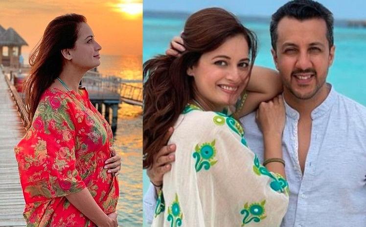 Dia Mirza ने फ्लॉन्ट किया बेबी बंप, शादी के डेढ़ महीने बाद ही एक्ट्रेस ने अनाउंस की अपनी Pregnancy, देखें Viral Photo