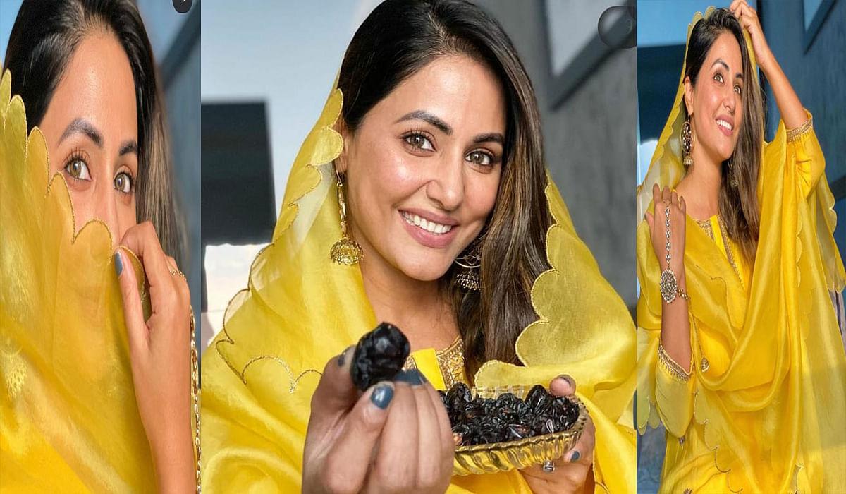 टीवी एक्ट्रेस Hina Khan