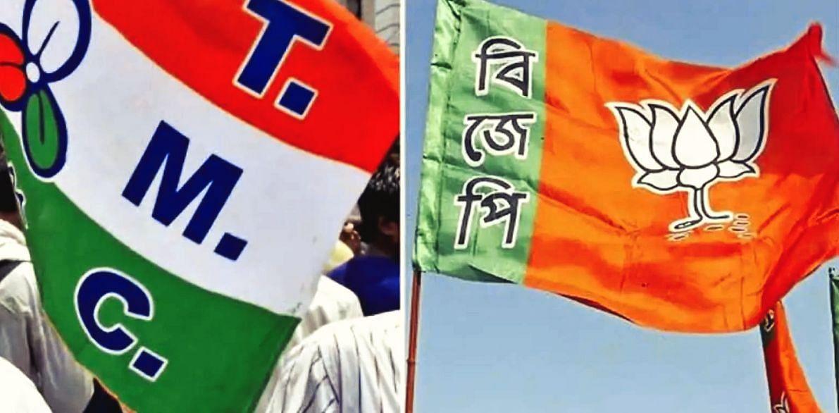 पांचवें फेज के दौरान रणक्षेत्र बना साल्टलेक, BJP-TMC समर्थकों में हिंसक झड़प, सेंट्रल फोर्स तैनात