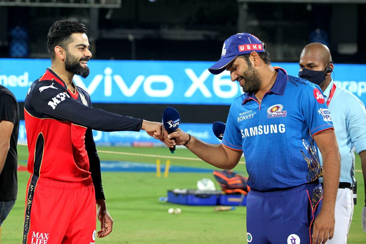 IPL 2021: रोहित शर्मा की मुंबई को हारते हुए देखना चाहते हैं सहवाग, कोहली की टीम को किया सपोर्ट