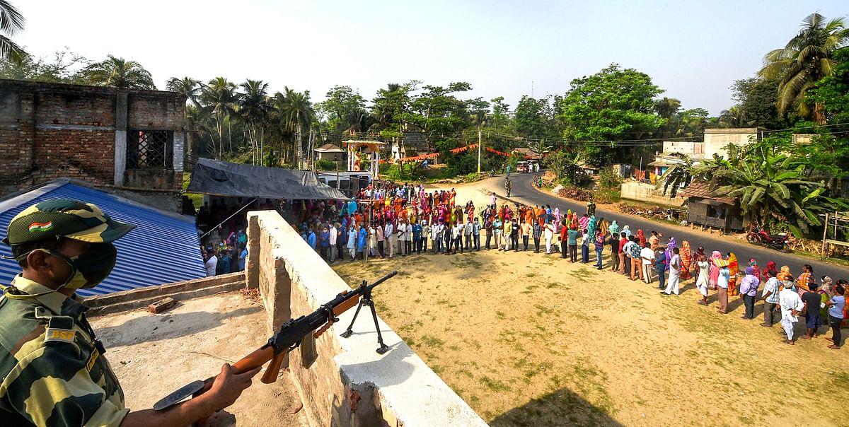 दूसरे चरण में बंगाल में हुई बंपर वोटिंग, नंदीग्राम में 88.01 फीसदी मतदान