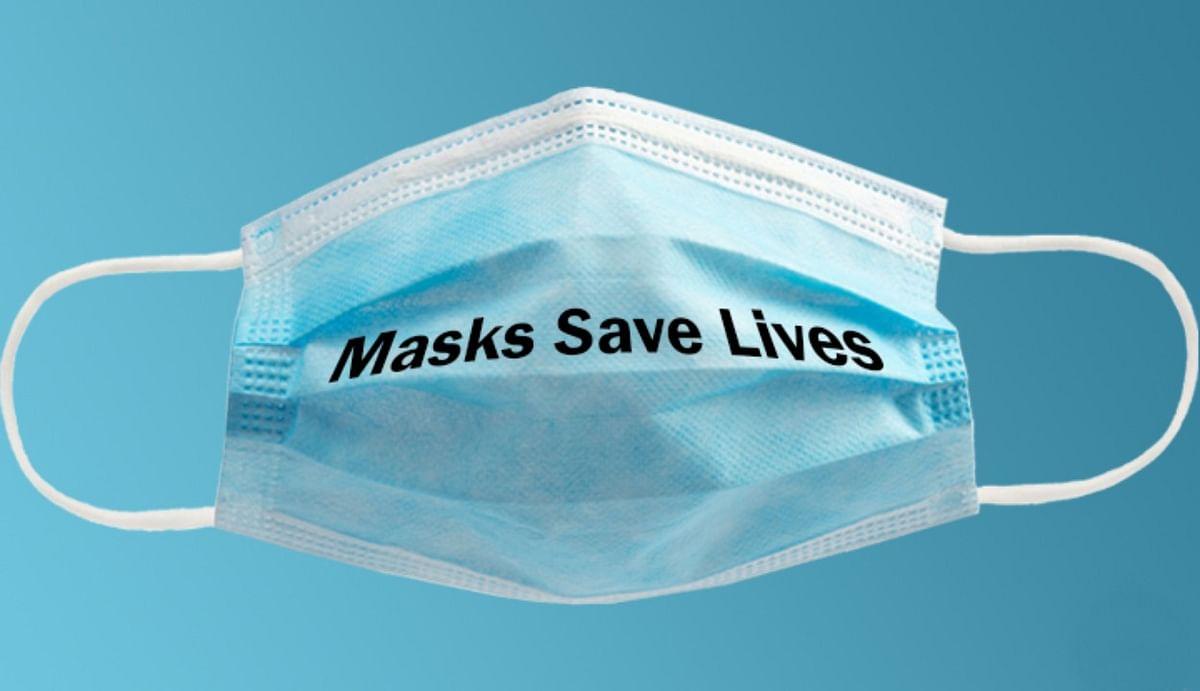 दो मास्क पहनने के फायदे, सर्जिकल मास्क के ऊपर पहनें कपड़े का मास्क, 85 फीसदी तक बचे रहेंगे आप