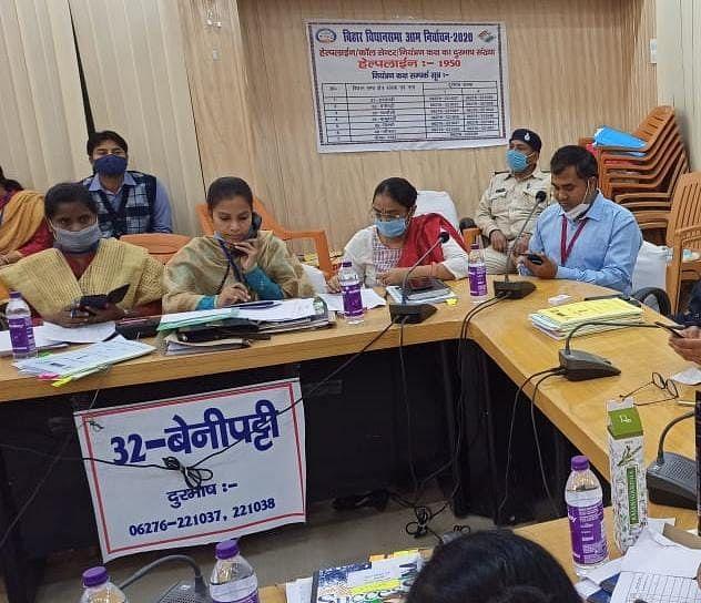 बिहार में कोरोना रोकथाम के लिए बनाया गया था कंट्रोल रूम, अब 15 दिन के भीतर ही फोन नंबर हो गया बंद