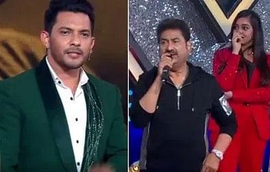 Indian Idol 12 : आदित्य नारायण ने अमित कुमार पर साधा निशाना, कुमार सानू से पूछ लिया ऐसा सवाल, देखें VIDEO