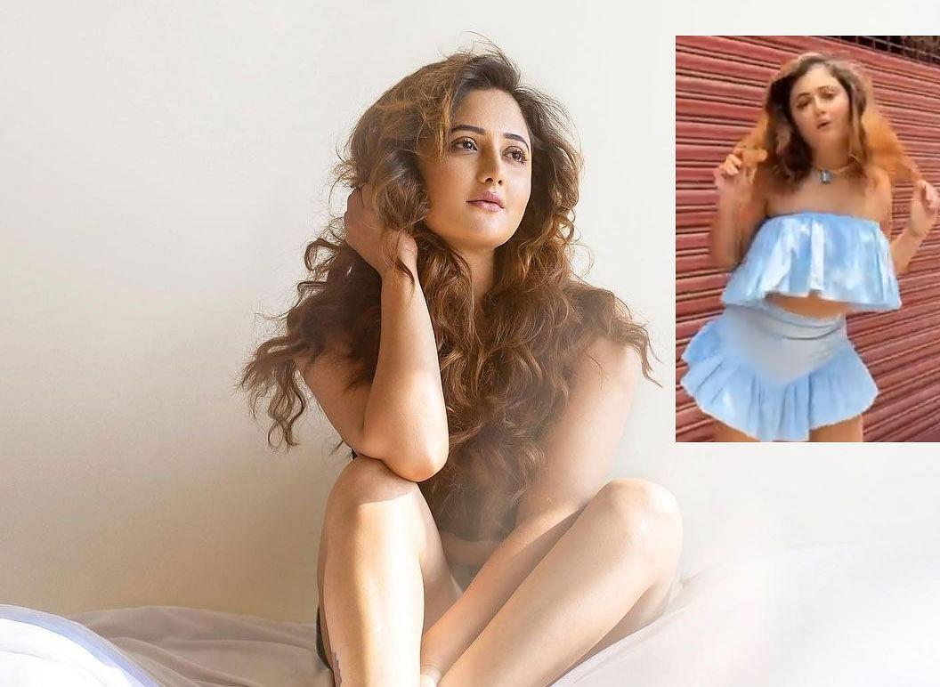 Rashami Desai ने शॉर्ट स्कर्ट में किया जबरदस्त डांस, फैंस बोलो 'घर में रहो बाहर कोरोना है'