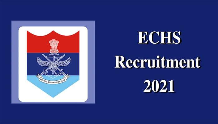ECHS Recruitment 2021: ईसीएचएस क्लीनिकों में निकाली नियुक्ति, ऐसे कर सकते हैं आवेदन