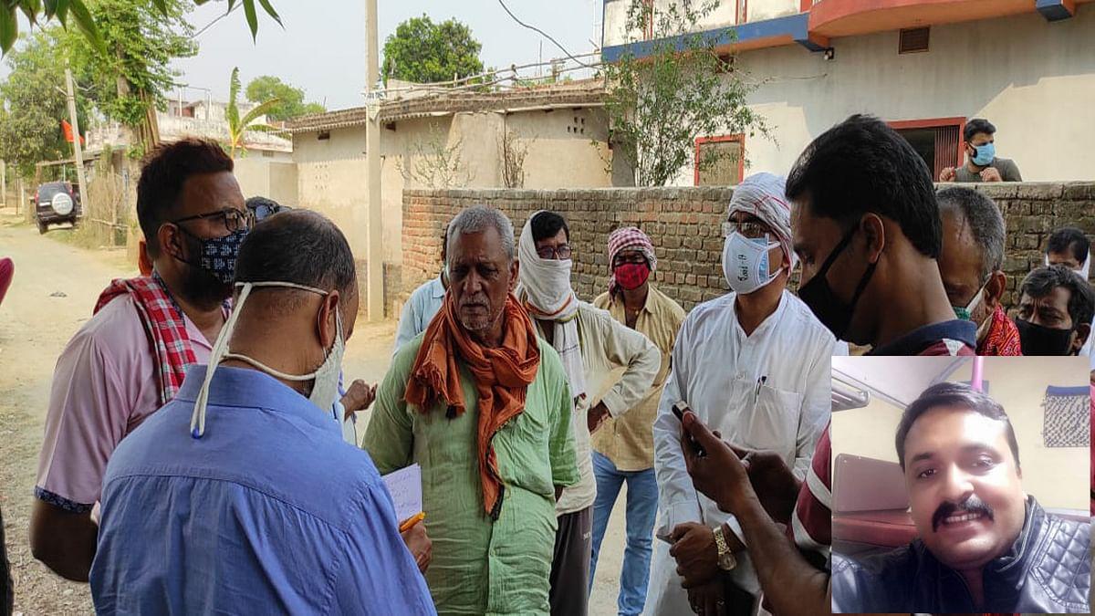 पलामू के जवान की फरीदाबाद से दिल्ली ऑक्सीजन टैंकर लाने के क्रम में मौत, गांव में पसरा सन्नाटा