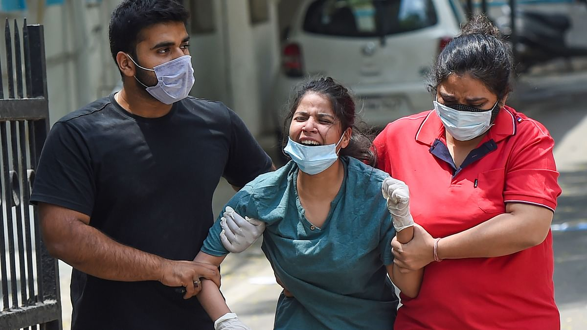 Coronavirus News Updates : पंजाब में 8367 नए केस, हरियाणा में पिछले 24 घंटे में 162 मौतें दर्ज, कोरोना की तीसरी लहर के लिए तैयार रहें : शिवराज सिंह चौहान
