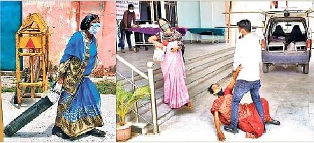 Coronavirus in Bihar : पांच लाख रुपये लेकर भी खाली सिलिंडर लगाकर किया रेफर, निजी अस्पताल की लापरवाही से हुई शिक्षक की मौत