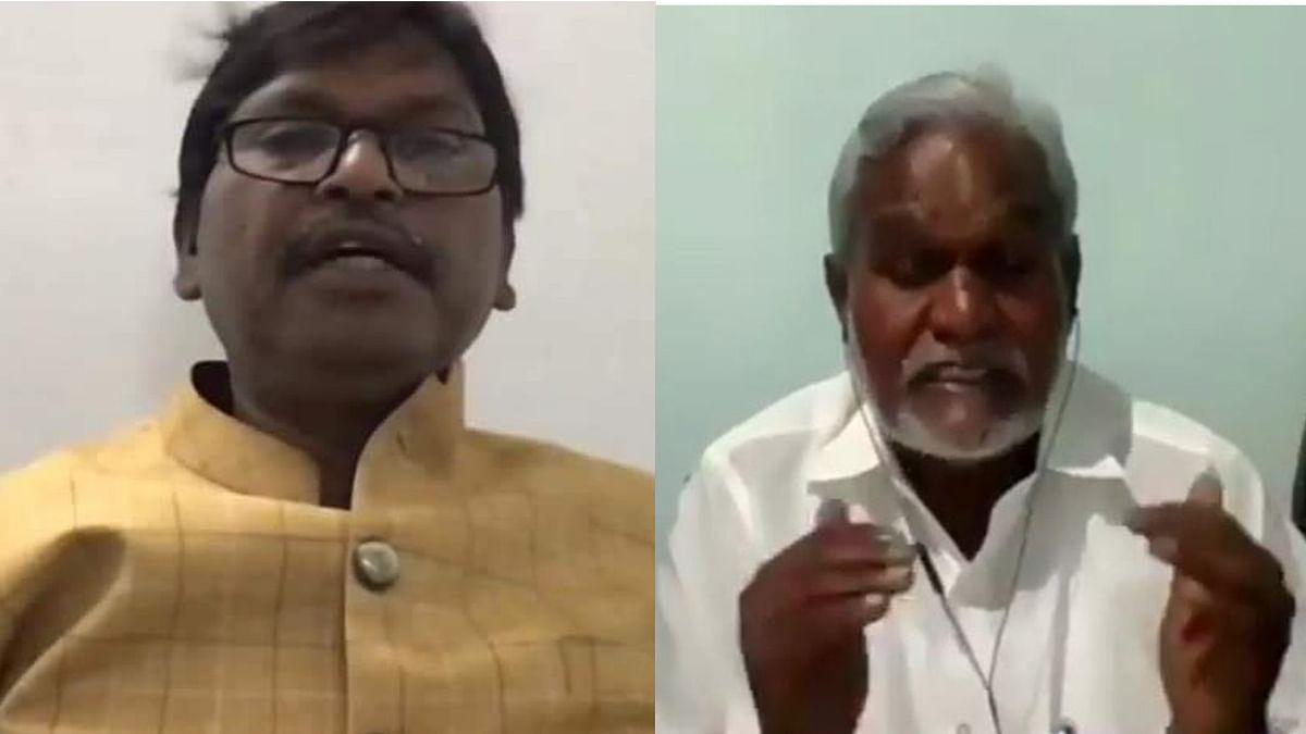 झारखंड CM हेमंत के साथ वर्चुअल मीटिंग में केंद्रीय मंत्री अर्जुन मुंडा ने ऑक्सीजन सिलिंडर समेत आधारभूत संरचना को पूरा करने दिया सुझाव, मंत्री चंपई सोरेन ने भी रखी अपनी बात