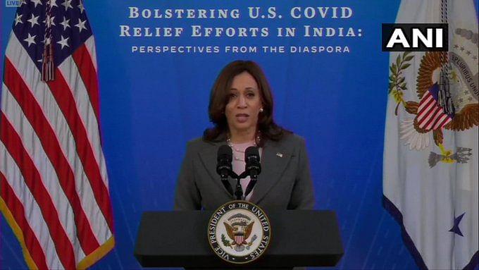 कोविड संकट के दौरान अमेरिका ने भारत को दिया मदद का आश्वासन, कमला हैरिस ने कहा-हम साथ खड़े हैं हर पल, हर संभव सहायता करेंगे