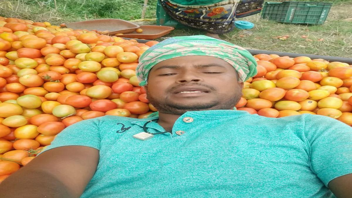 हजारीबाग के कटकमदाग में किसान मिनी लॉकडाउन से हैं परेशान, खरीदार नहीं मिलने से सब्जियां हो रही बेकार
