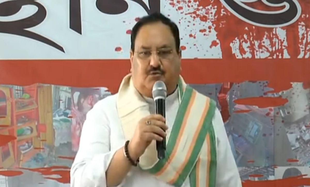बंगाल से राजनीतिक हिंसा को समाप्त करने की भाजपा ने ली शपथ, कोलकाता में जेपी नड्डा ने कही ये बात