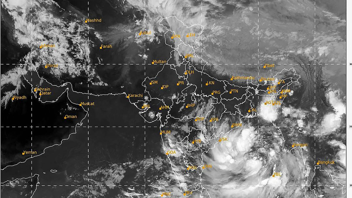 Cyclone Yaas Tracker :  Tauktae और Amphan से ज्यादा खतरनाक है चक्रवाती तूफान 'यास' ?