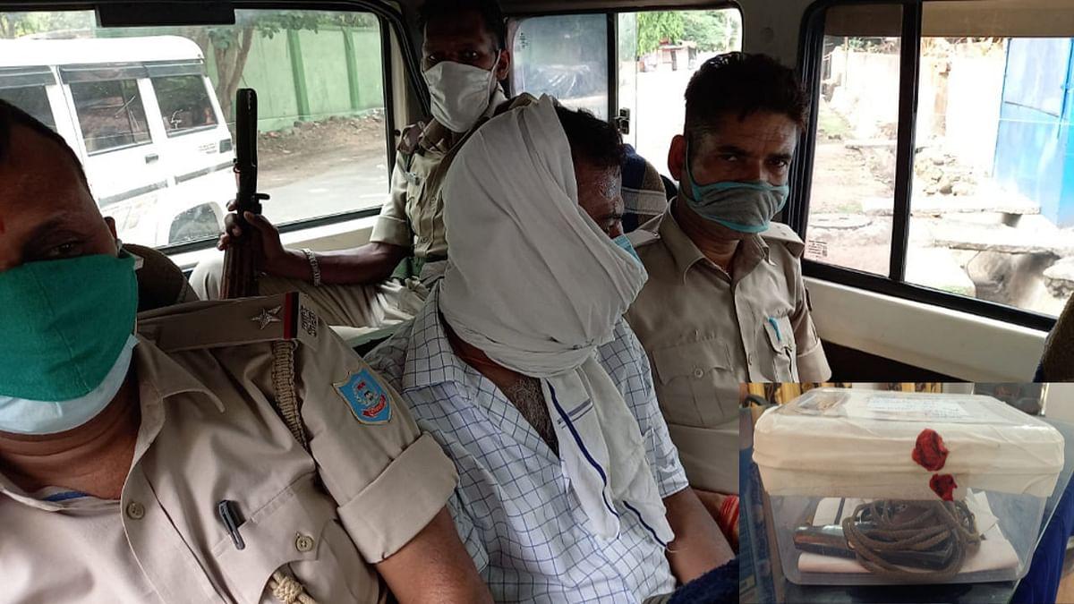 Jharkhand Crime News : जमशेदपुर के जुगसलाई में होटल कारोबारी की हत्या मामले में पूर्व जिप उपाध्यक्ष के पति टुनटुन सिंह गिरफ्तार, हथियार बरामद