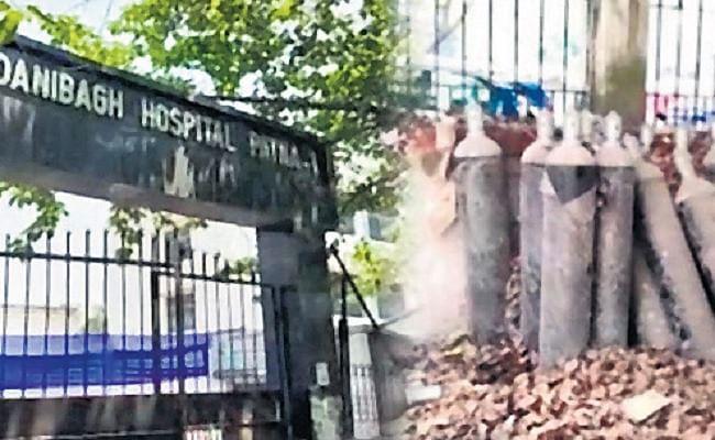 पटना में स्वास्थ्य समिति कार्यालय के गेट पर रखे 35 ऑक्सीजन सिलिंडरों पर थी धूल, कहा- दो दिन पहले ही आये