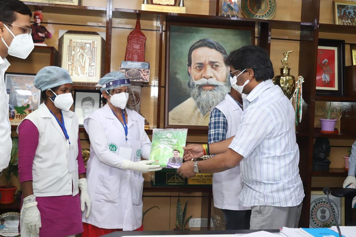 झारखंड में कोरोना उन्मूलन के लिए सीएम हेमंत सोरेन ने ग्राम स्तर पर सर्वे एवं रैपिड एंटीजन टेस्ट कार्यक्रम का किया शुभारंभ, पढ़िए क्या है प्लान