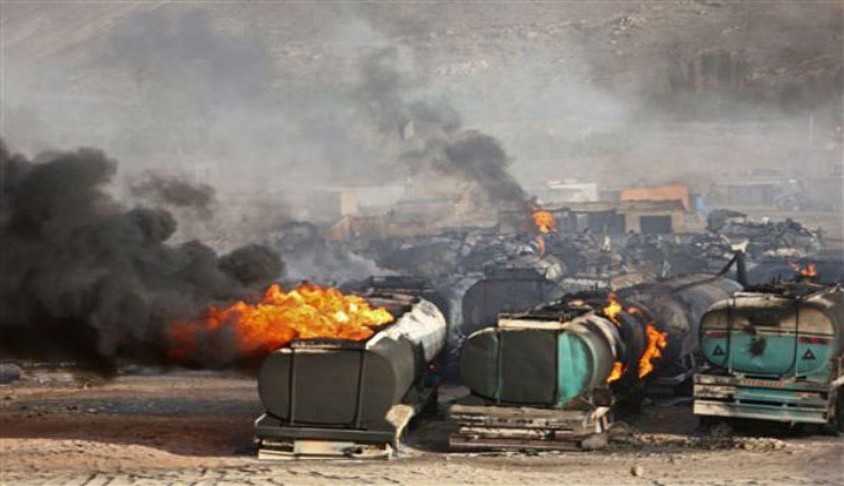 अफगानिस्तान : काबुल में फ्यूल टैंकर में आग लगने से 7 लोगों की मौत, कई घरों समेत गैस स्टेशन भी चपेट में