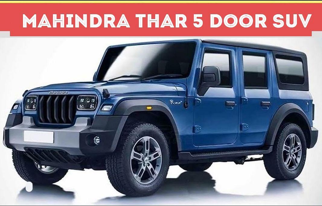Mahindra ला रही Thar SUV का 5 Door अवतार, अगले 5 साल में 9 नये प्रोडक्ट्स लॉन्च करेगी कंपनी