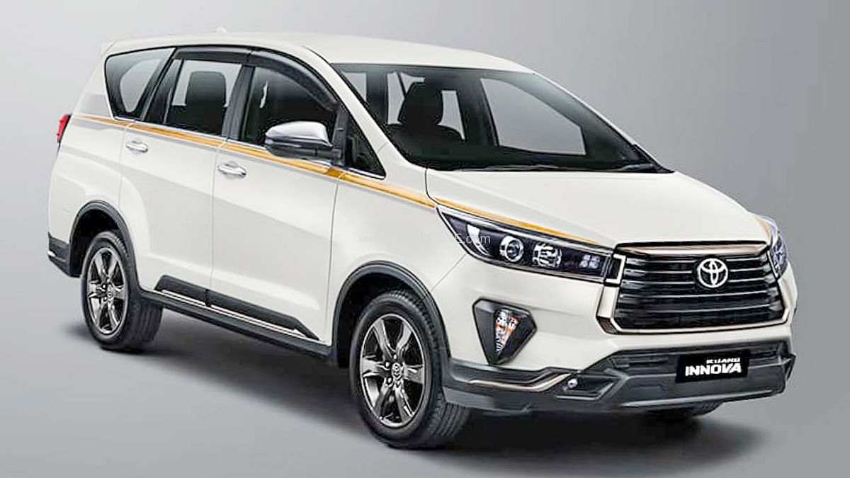 Toyota Innova: टोयोटा ने 50वीं एनिवर्सरी पर पेश की स्पेशल एडिशन इनोवा SUV