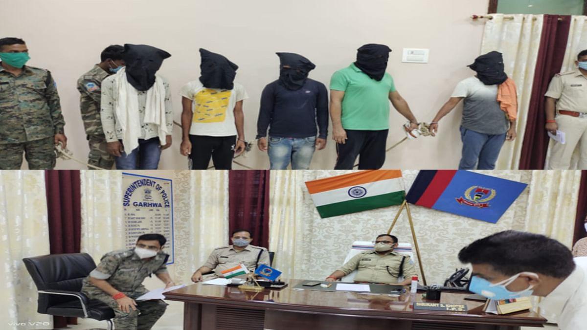 गढ़वा में डबल मर्डर मामले में महिला समेत 11 आरोपी गिरफ्तार, जानें कहां रची गयी थी हत्या की साजिश