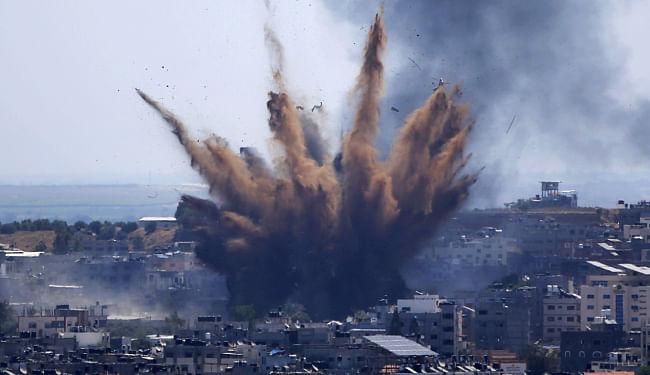 भारत ने किया इजरायल पर गाजा के रॉकेट हमले का विरोध, फ्लिस्तीन का किया समर्थन