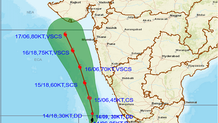 मौसम विभाग की चेतावनी : केरल में रेड अलर्ट, 308 लोगों को सुरक्षित स्थान पर पहुंचाया गया, अरब सागर में डीप डिप्रेशन