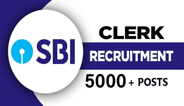 SBI Clerk Recruitment 2021: भारतीय स्टेट बैंक ने निकाली 5,000 से ज्यादा पदों पर नियुक्ति, इस दिन से पहले करें आवेदन sbi.co.in